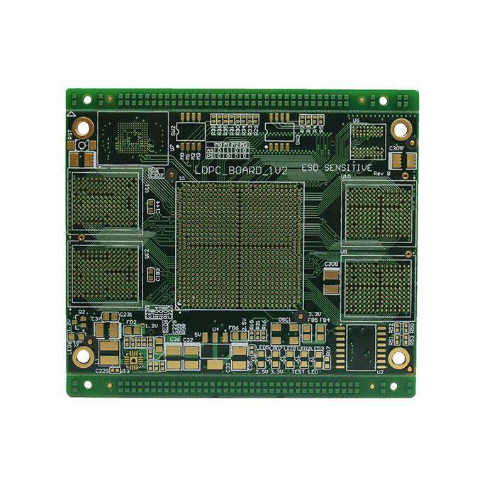 10层阻抗塞孔PCB电路板